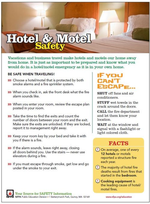 Hotel & Motel Safety