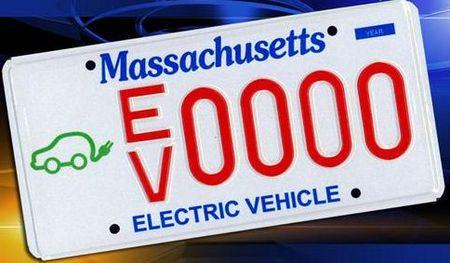 EV License plate