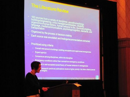 Eric Kuligowski leads workshop at SUPDET 2012