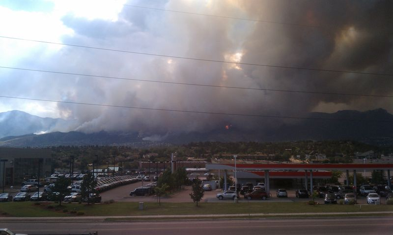 CO wildfire