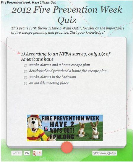 FPW 2012 Quiz