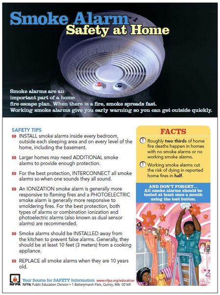 Smoke Alarm Tip Sheet