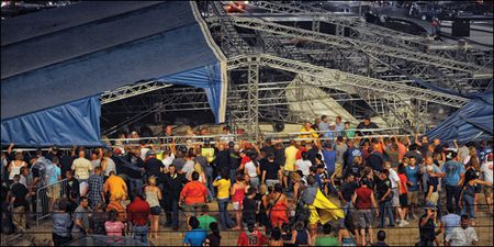 Indiana State Fair collapse