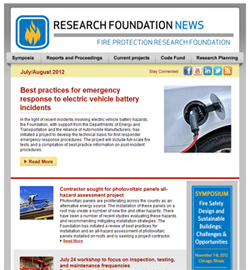 Research Foundation newsletter