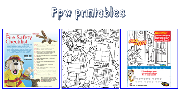 Fire Safety Game Fire Safety Tips Worksheet