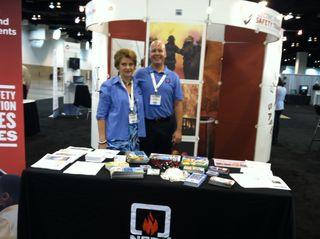 Gary Honold and Pat Mieszala at FRI in Denver, CO