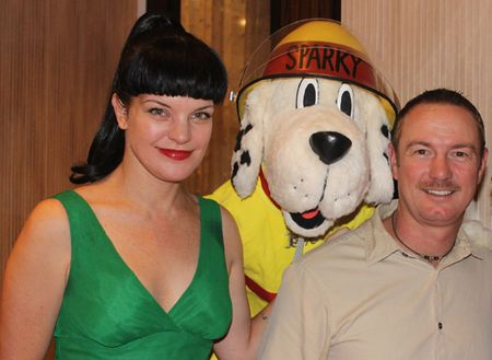 Sparky and Pauley Perrette