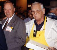 Chet Schirmer and Rolf Jensen, circa 1993.