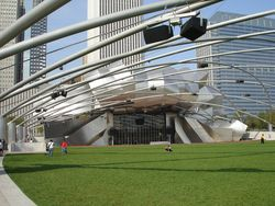 Jay Pritzker Pavilion and the Great Lawn