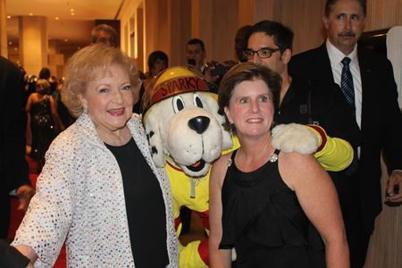 Betty White and Sparky