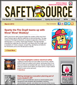 Safety Source newsletter