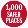 1000 safer places