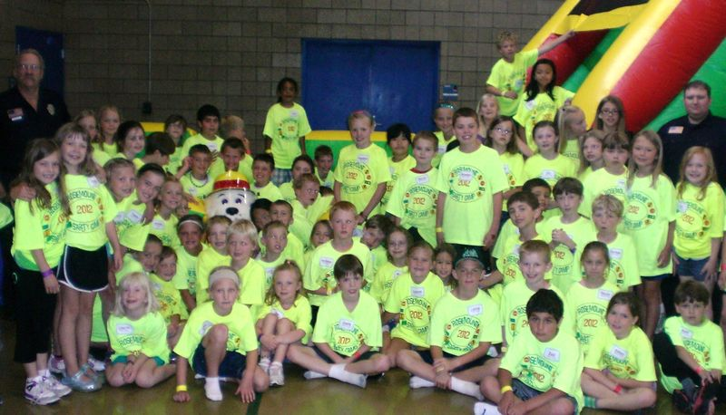 Sparky and Safety Campers from Rosemount