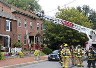 Marietta House Fire