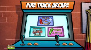 Fire truck arcade