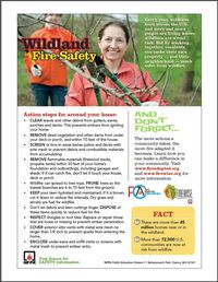 Wildland Fire Safety Tip Sheet