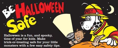 Halloween safe