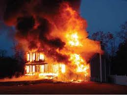 Modular home fire