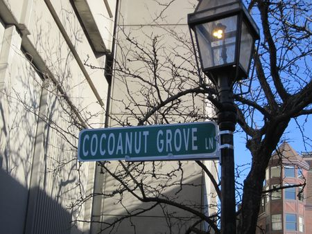 Cocoanut Grove Lane
