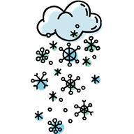 Carbon Monoxide Snow fall