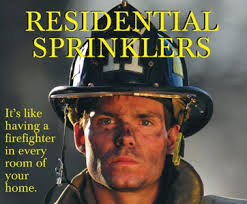 Firesprinklerfirefighter