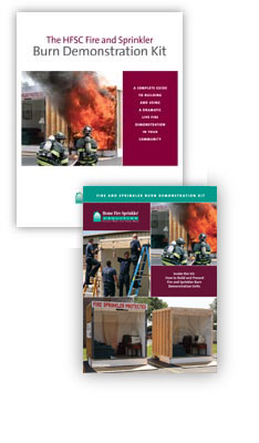 Live burn demonstration kit