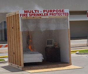 Sprinkler-demonstration