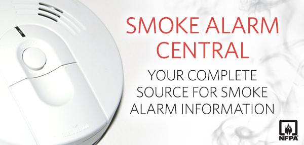 Smoke Alarm Central Graphic