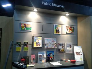 PUBLIC EDUCATION BOOTH