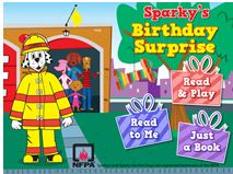 Sparky bday surprise