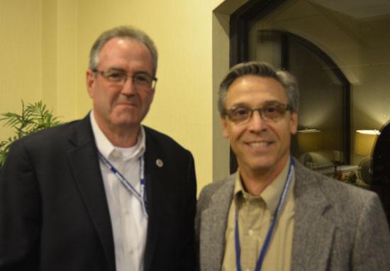 Jeff Hudson and John PIzzi