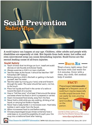 Scald Tip Sheet
