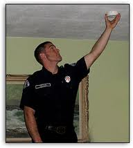 Smoke Alarm Installation Image