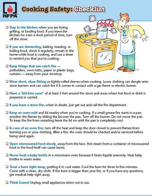 Cooking Checklist