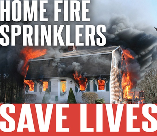 Sprinklers save lives