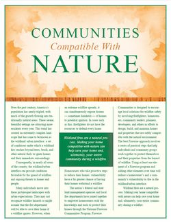 FW Communities Compatible with Nature