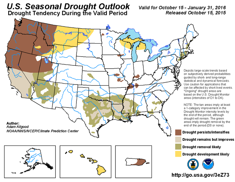 US Drought Outlook 1