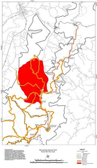 Virginia Wildfire