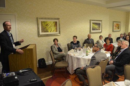JIm Pauley speaks at FSI summit