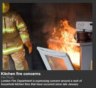 Kitchen fires