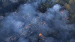 Chernobyl 2015 fires BBC.com news