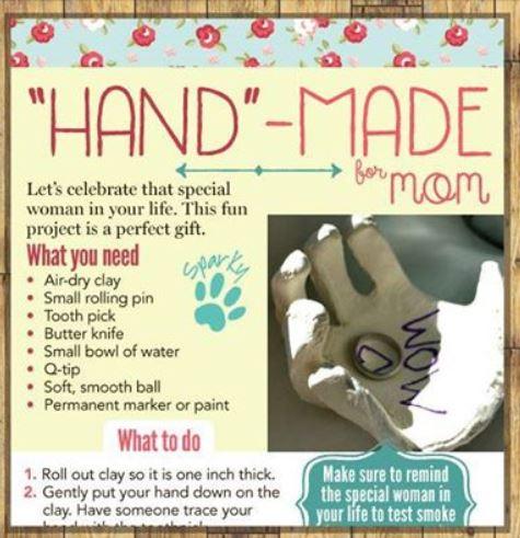 Hand made mom