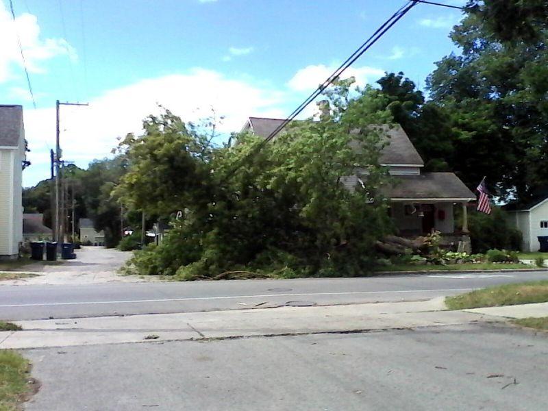 Meredith Neighbor Tornado Photo