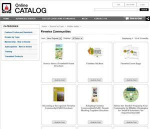 Firewise Catalog