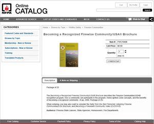 Firewise Catalog 2
