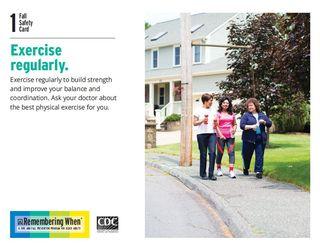 Exercise Behavior Card