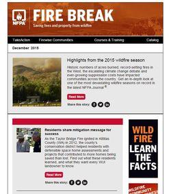 Fire break december