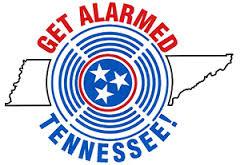 Get alarmed Tennessee logo