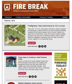 Feb firebreak